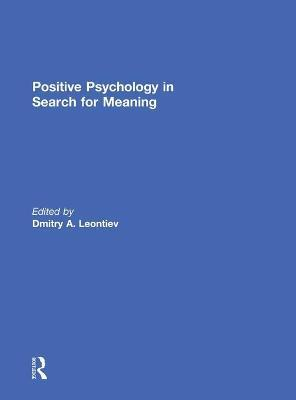 Positive Psychology in Search for Meaning