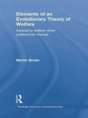Elements of an Evolutionary Theory of Welfare