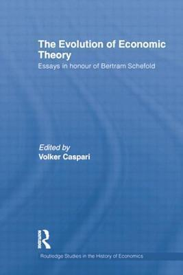 The Evolution of Economic Theory