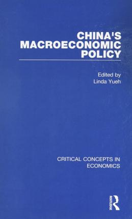 China's Macroeconomic Policy