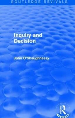 Inquiry and Decision
