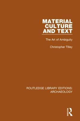 Material Culture and Text