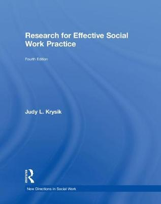 Research for Effective Social Work Practice
