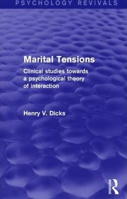 Marital Tensions (Psychology Revivals)