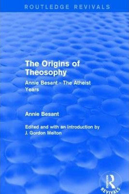 The Origins of Theosophy