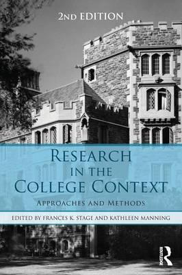 Research in the College Context