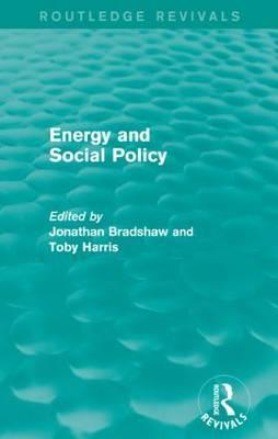 Energy and Social Policy