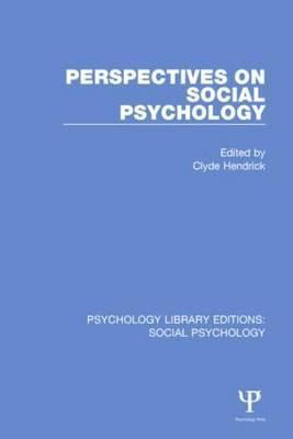Perspectives on Social Psychology