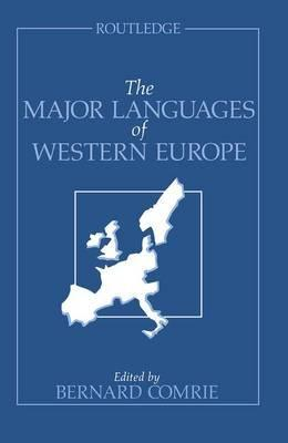 The Major Languages of Western Europe