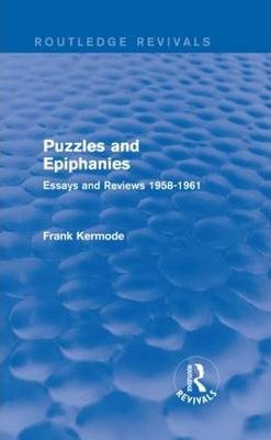 Puzzles and Epiphanies