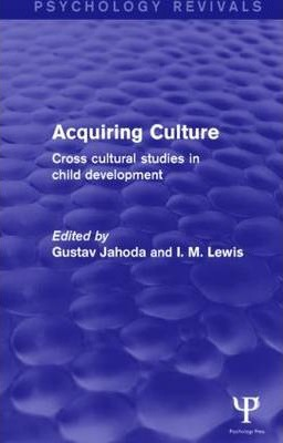 Acquiring Culture (Psychology Revivals)