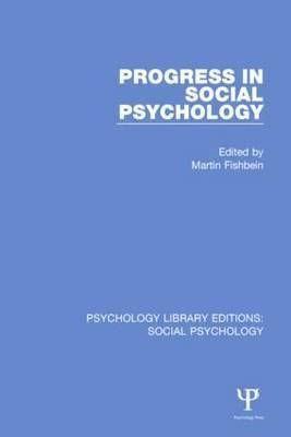 Progress in Social Psychology: Volume 1