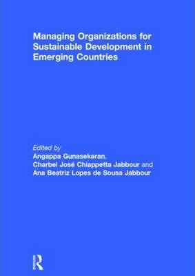 Managing Organizations for Sustainable Development in Emerging Countries