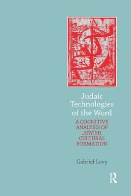 Judaic Technologies of the Word