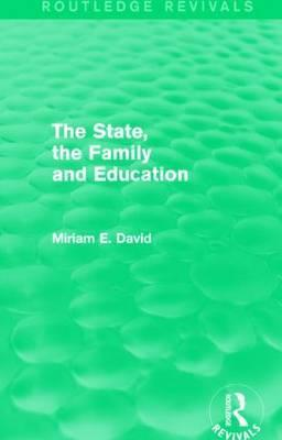 The State, the Family and Education