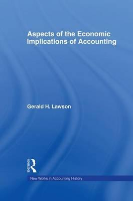 Aspects of the Economic Implications of Accounting