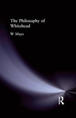 The Philosophy of Whitehead