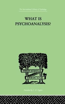What Is Psychoanalysis?