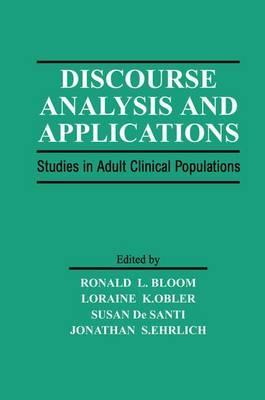Discourse Analysis and Applications