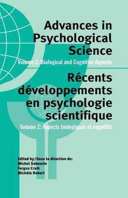 Advances in Psychological Science: Volume 2
