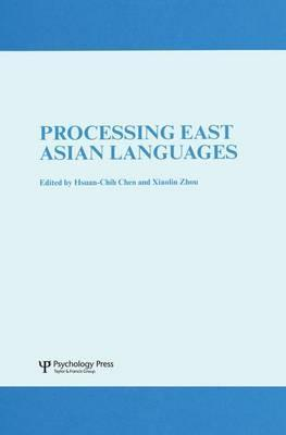 Processing East Asian Languages