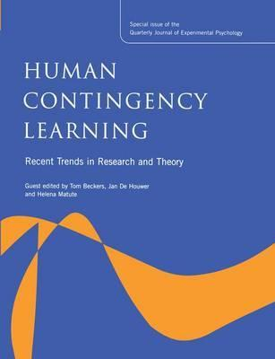 Human Contingency Learning: Recent Trends in Research and Theory
