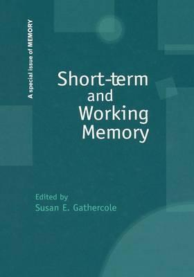 Short-Term and Working Memory