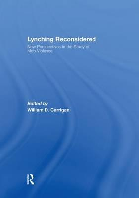 Lynching Reconsidered