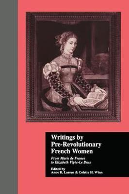 Writings by Pre-Revolutionary French Women