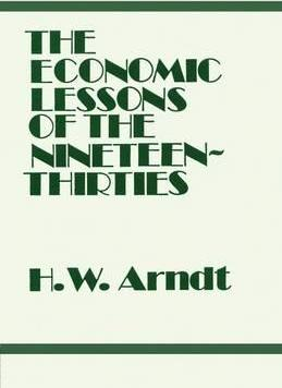 Economic Lessons of the 1930s