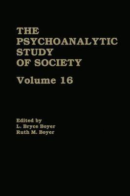 Psychoanalytic Study of Society: Essays in Honor of A. Irving Hallowell Volume 16