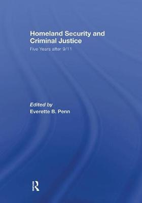 Homeland Security and Criminal Justice