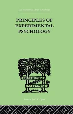 Principles Of Experimental Psychology