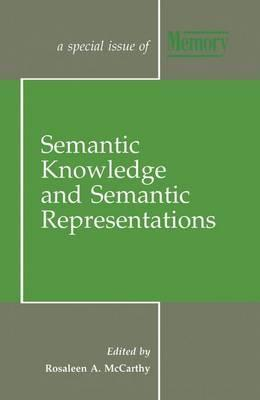 Semantic Knowledge and Semantic Representations