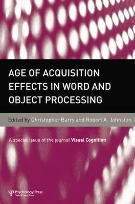 Age of Acquisition Effects in Word and Object Processing