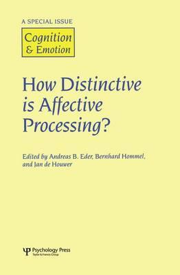How Distinctive is Affective Processing?