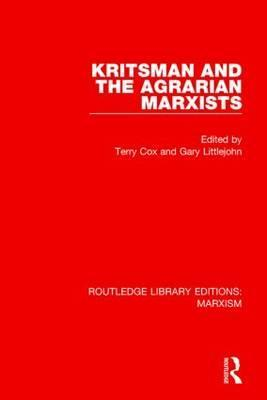 Kritsman and the Agrarian Marxists
