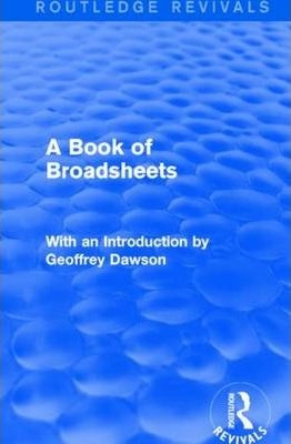 A Book of Broadsheets