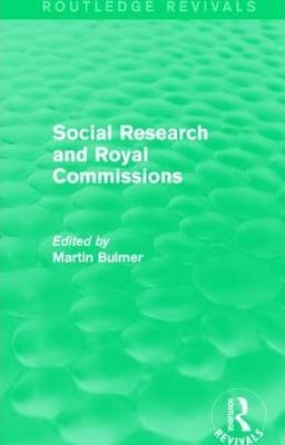 Social Research and Royal Commissions