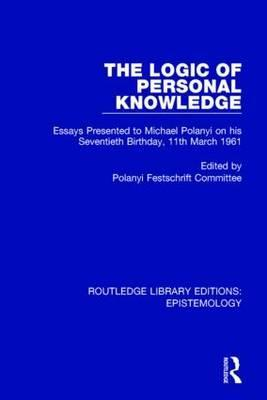 The Logic of Personal Knowledge