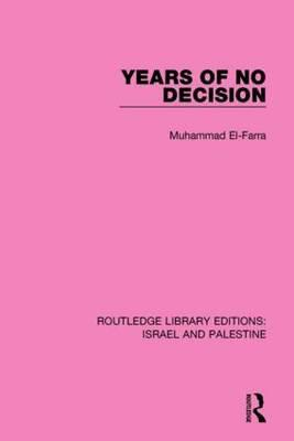 Years of No Decision