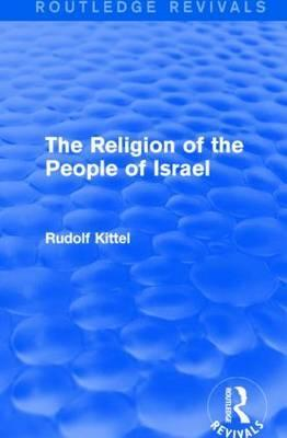 The Religion of the People of Israel