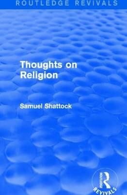 Thought on Religion
