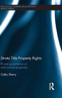 Strata Title Property Rights