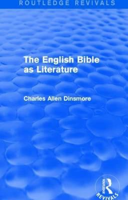 The English Bible as Literature