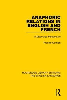 Anaphoric Relations in English and French