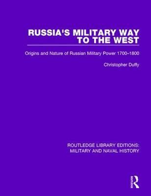 Russia's Military Way to the West