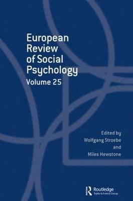 European Review of Social Psychology: Volume 25