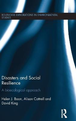 Disasters and Social Resilience