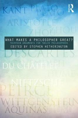 What Makes a Philosopher Great?
